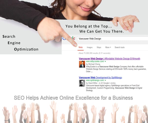 SEO Helps Achieve Online Excellence for a Business