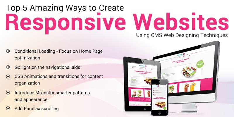 responsive-website responsive website - responsive website - Top 5 Amazing Ways to Create Responsive Websites Using CMS Web Designing Techniques